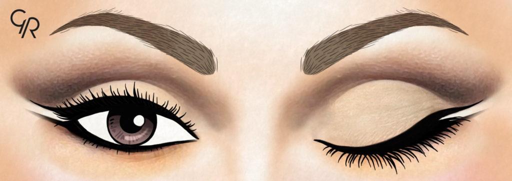 jak pomalować oczy