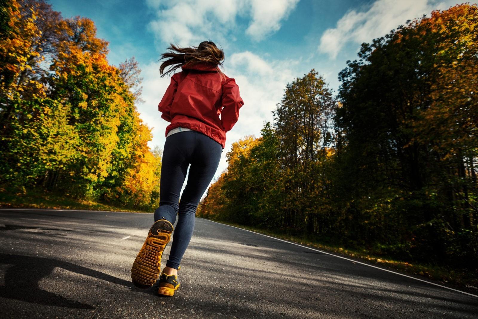 trening jesienią