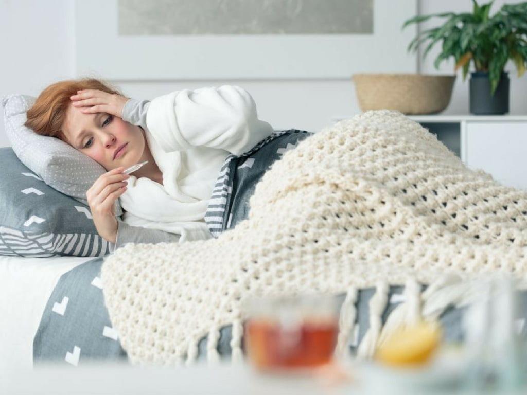 krew z nosa przy przeziębieniu