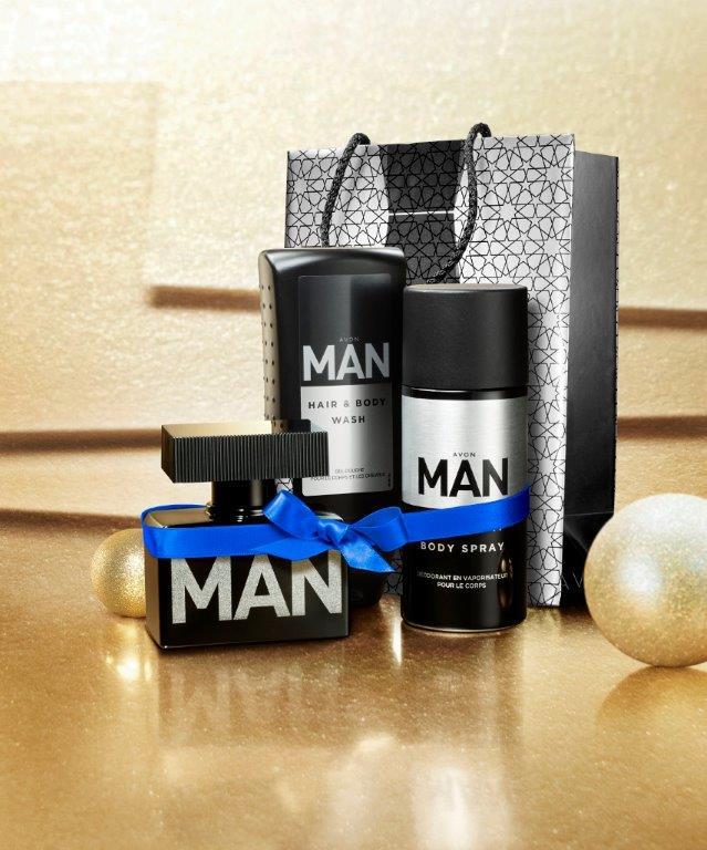zestaw świąteczny AVON MAN