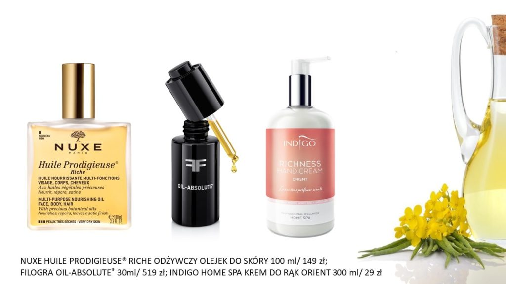 kosmetyki z olejkami