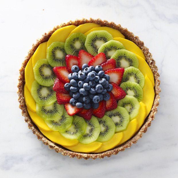 placek z owocami