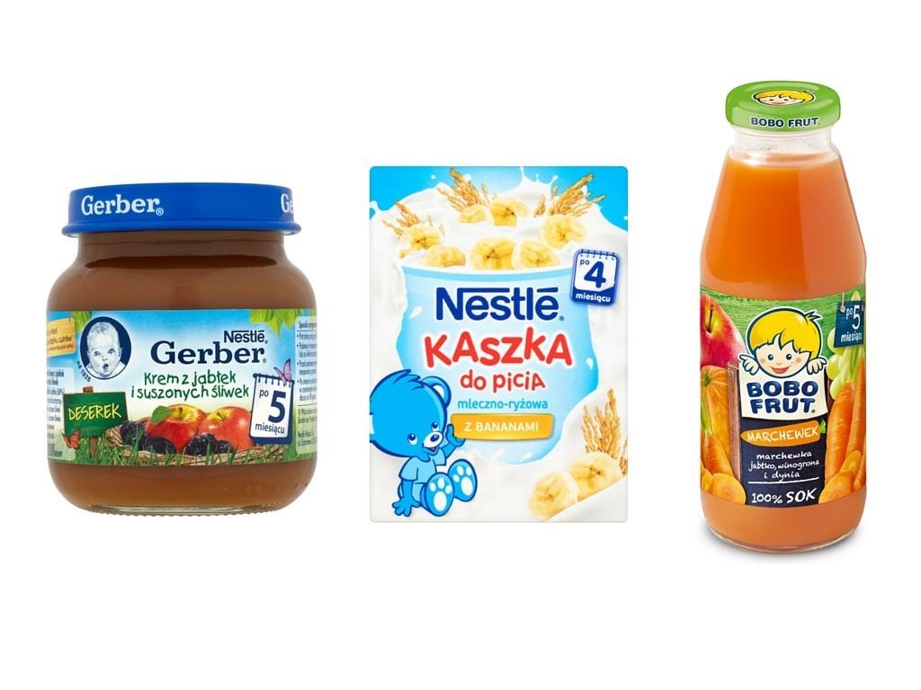 produkty dla niemowląt