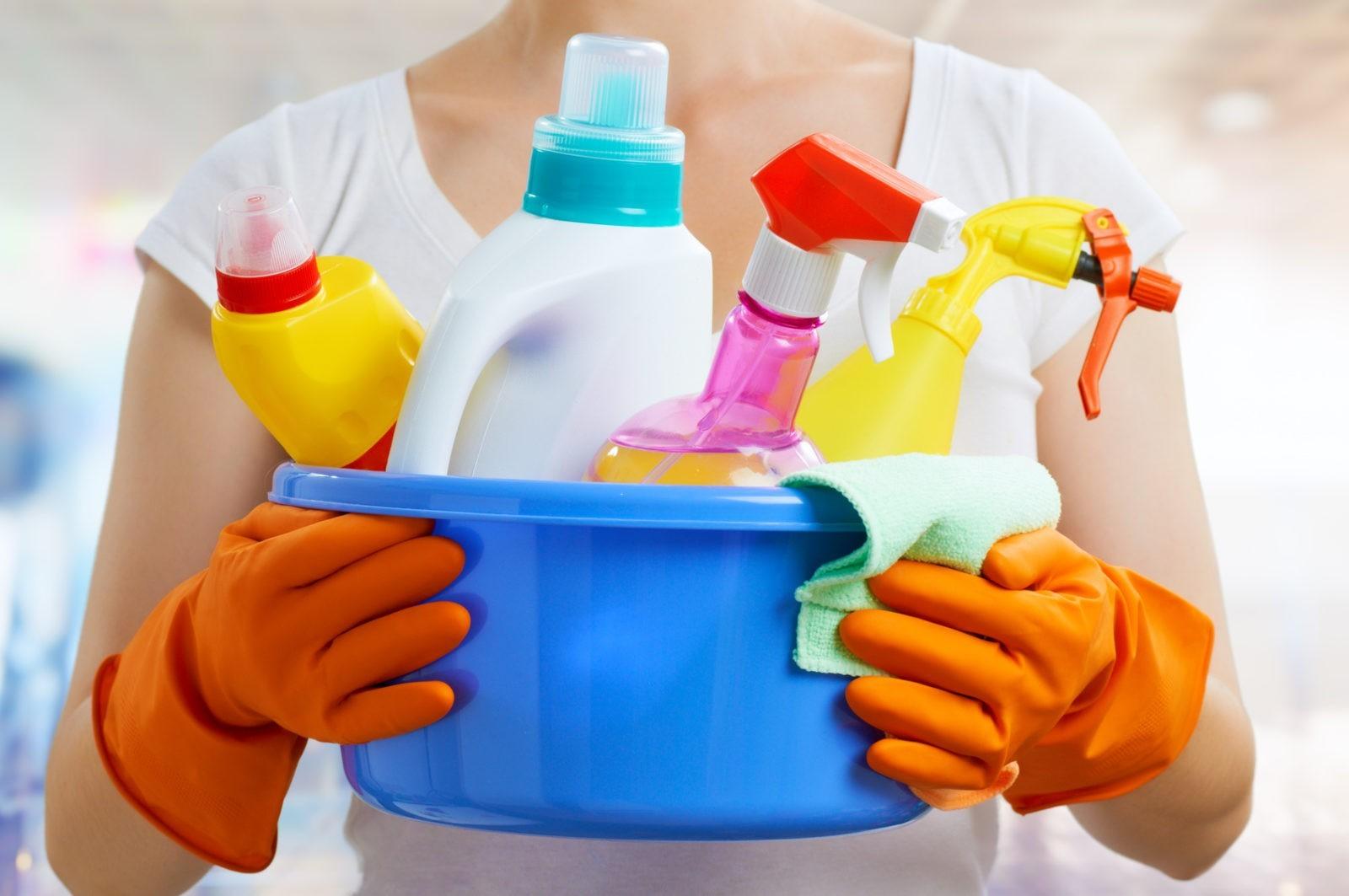 detergenty w domu