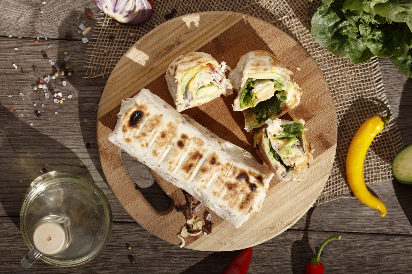 grillowana tortilla