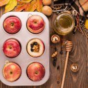 pieczone jablka