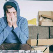 stres wpływa na wzrok